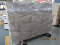 Grey artificial stone translucent onyx