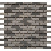 Small brick basalt mosaic