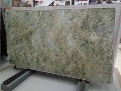 Beautiful Seattle Green Granite Slab