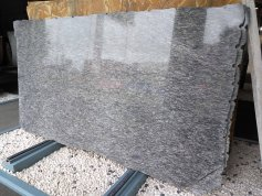 Polished Siliver Brown Granite Slab